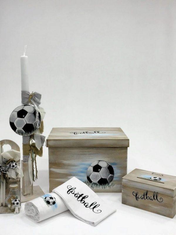Πακέτο βάπτισης με θέμα το ποδόσφαιρο