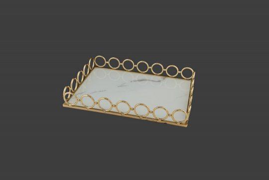Μεταλλικός δίσκος γάμου, χρυσός.
