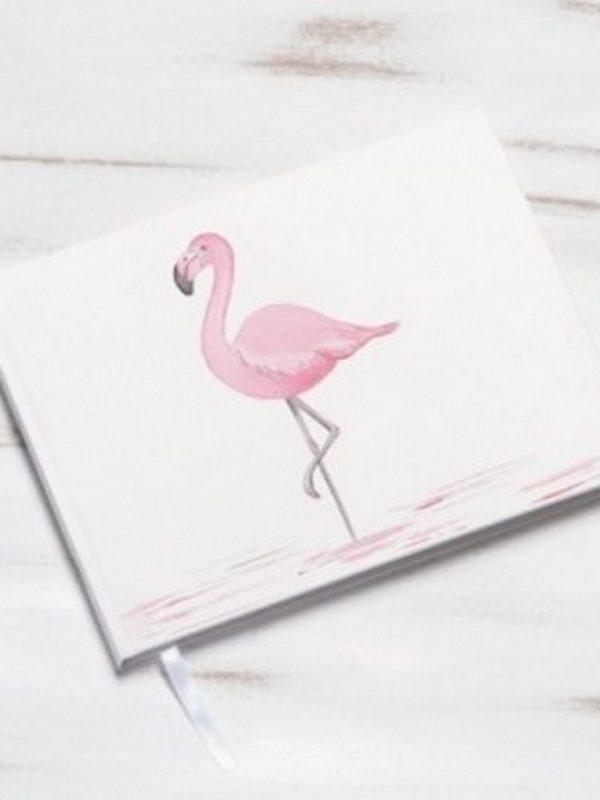 βιβλίο-ευχών-βάπτισης-flamingo