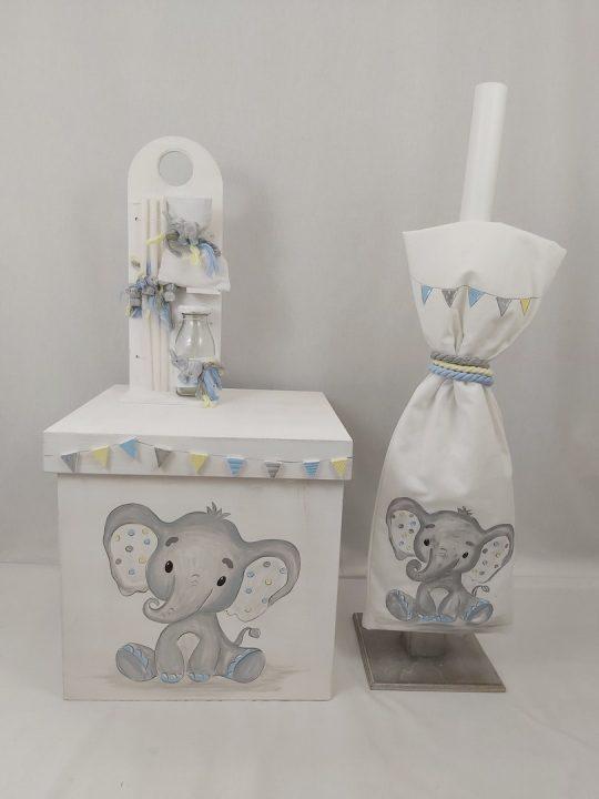 σετ βαπτισης ελεφαντας