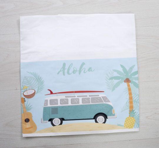 σετ βάπτισης με θέμα το Aloha