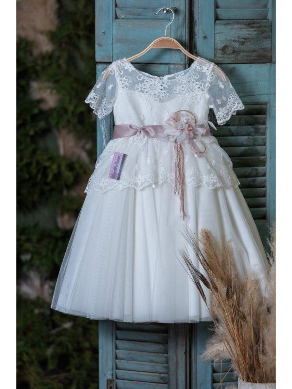 Vintage φόρεμα βάπτισης.