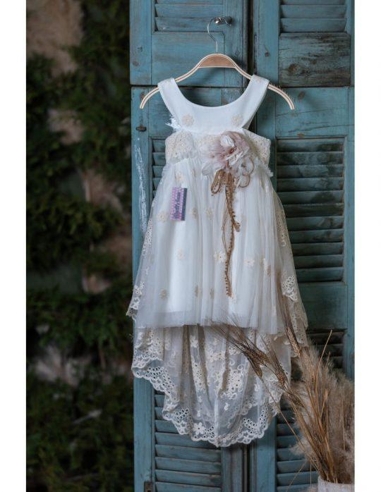 Φόρεμα βάπτισης για κορίτσι.