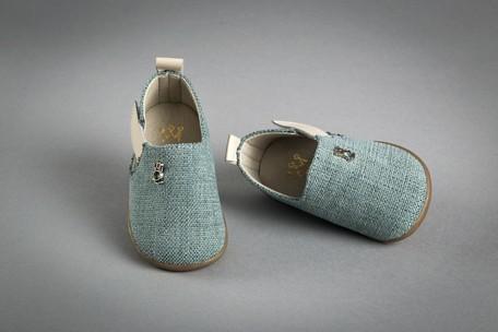 Δερμάτινα χειροποίητα παιδικά παπουτσάκια Βάπτισης