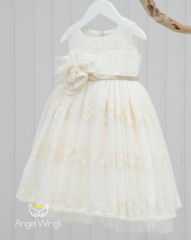 Βαπτιστικό φορεματάκι για κορίτσι 153
