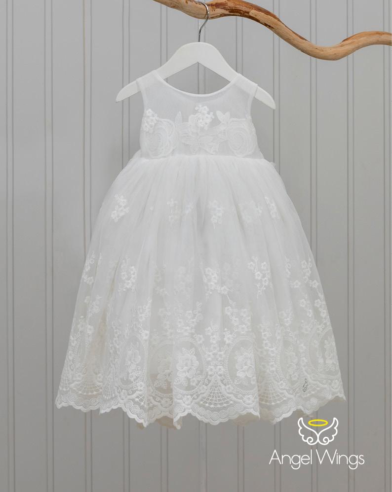 Βαπτιστικό φορεματάκι για κορίτσι 220