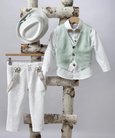 Κοστούμι βάπτισης για αγόρι.